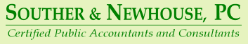 Souther & Newhouse PC - CPA - Certified Public Accountants - Knoxville TN